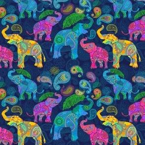 ASIAN ELEPHANTS BRIGHT Medium