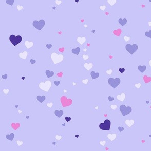 Splash hearts grape