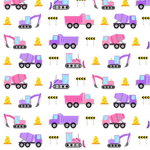 purple pink construction trucks (small)