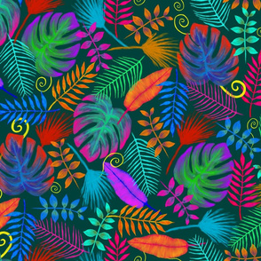 It's a colorful jungle out there