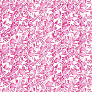 Begonia-Rex-water-colour-pink
