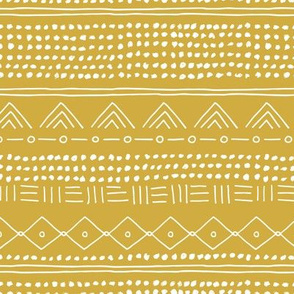 Minimal mudcloth bohemian mayan abstract indian summer love aztec design yellow ochre