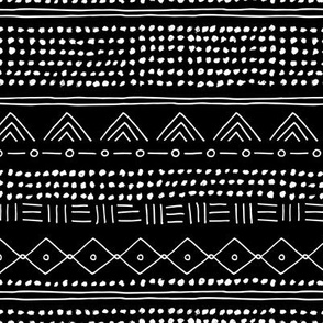 Minimal mudcloth bohemian mayan abstract indian summer love aztec design monochrome black and white