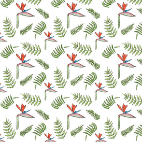 Birds of Pardise Repeating Pattern