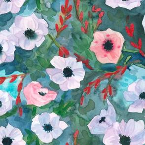 moody anemone