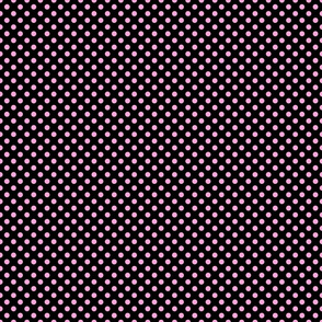 Pink Polka Dots - Dark