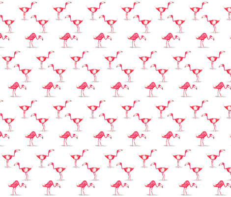 Think Pink fabric by mulberry_tree on Spoonflower - custom fabric