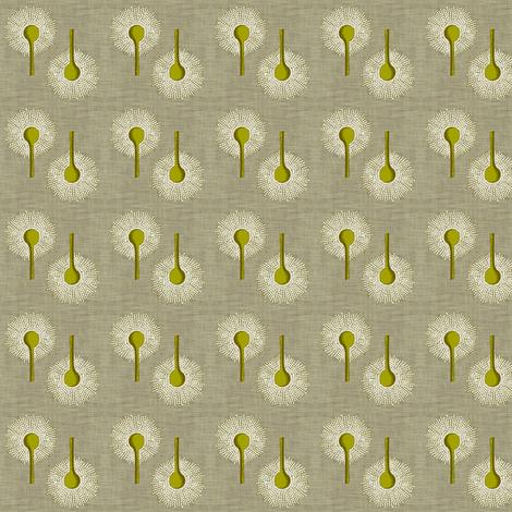 Aspergillus Organica Moss Small fabric by brainsarepretty on Spoonflower - custom fabric