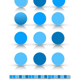 White with blue Circle _ squares Colors 2019 copy 2