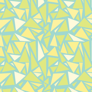 Cracked Triangles seamless pattern