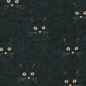 Noir Cat Face (black) MED