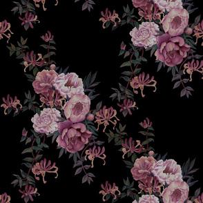 Moody Floral - Black