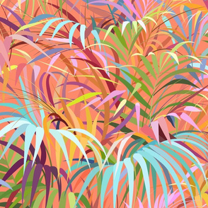 Tropical Mood of the Coral Season