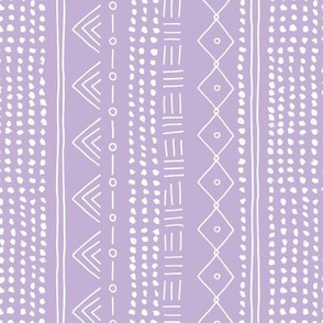Minimal mudcloth bohemian mayan abstract indian summer love aztec design dusty lilac vertical rotated