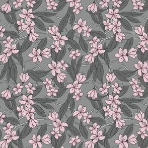 Sakura - Pink and Grey