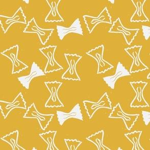 Bow Tie (Goldenrod) Medium