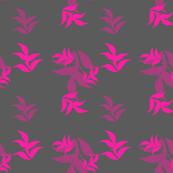 Hot Pink Beach Leaf
