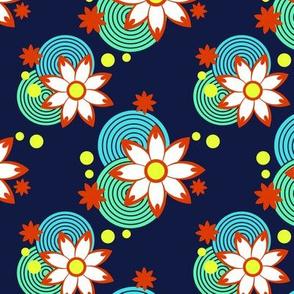 Summer Cherry blossom pattern 1