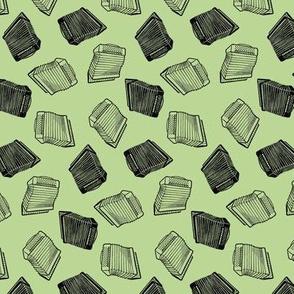 accordion toss green