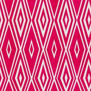 Crystalline - Geometric Pink Punch