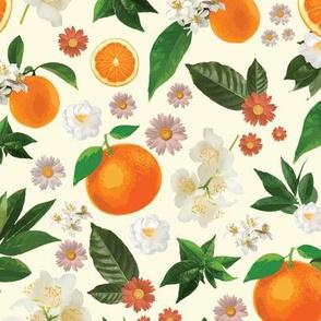 Clementine and Cream