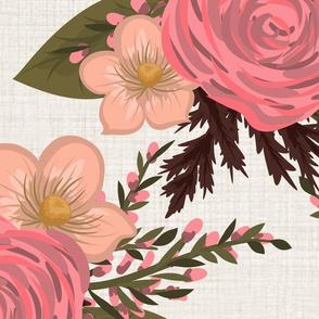 Daphne Floral Cream