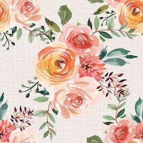 Beatrice Floral Cream