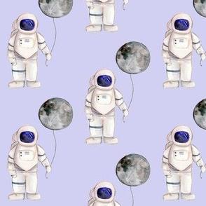 Watercolour Astronaut