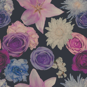 Muted Moody Floral