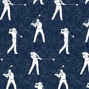 golfers - dark navy - LAD19