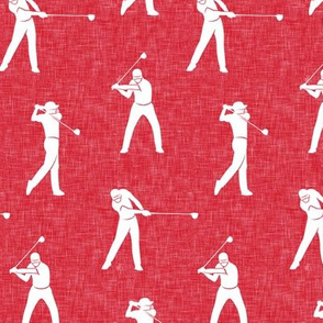 golfers - red  - LAD19