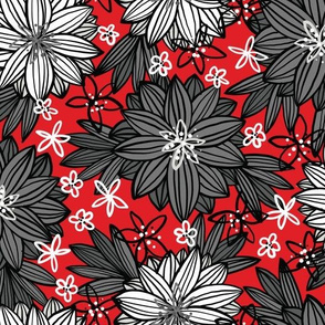 Bohemian Tropics (Red)