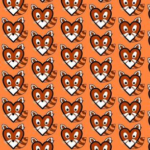 red panda heart