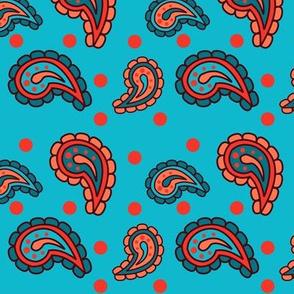 ComplementarPaisley Pattern