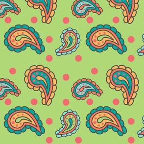 California Paisley Pattern