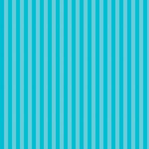 Summer Aqua Stripe