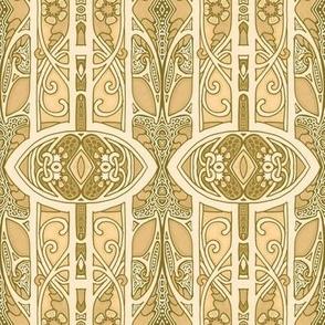 Art Nouveau Swirl and Go