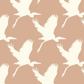Take flight in blush pink