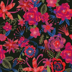 moody floral rgb