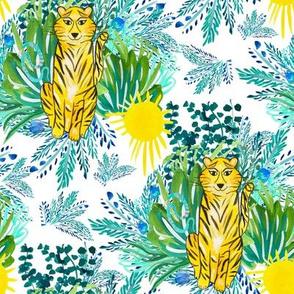 "8"" In the Jungle Tiger"