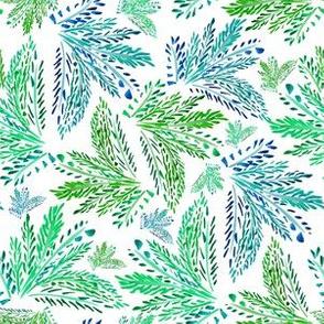 "6"" Palm Leaves"