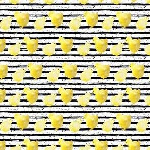 "4"" Chicks Black and White Stripes"