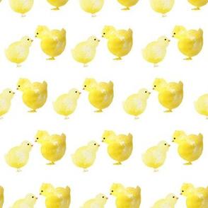 """8"""" Spring Chicks White"""