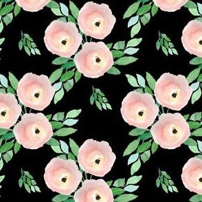 "4"" Spring Roses Black"