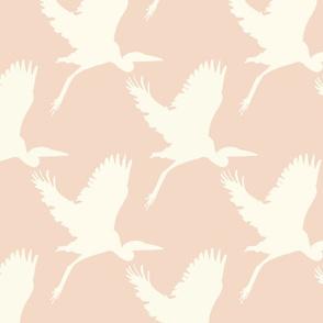 Take flight in baby pink