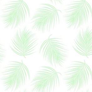 "4"" PALM TREES MINT GREEN"
