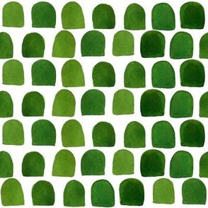 "8"" Green Scallops"
