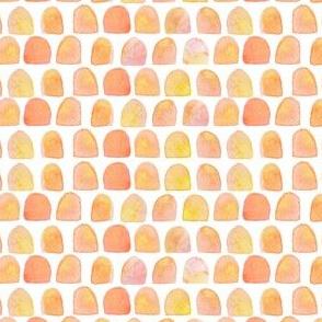"4"" Peach Scallops"