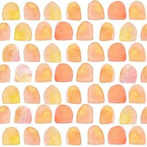 "8"" Peach Scallops"