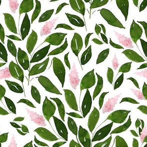 """8"""" Pink Flower Branches"""